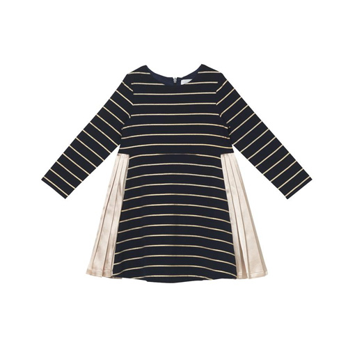[OAKS OF ACORN] Gold Stripe Daphne Dress