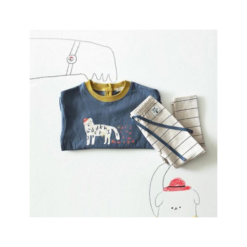 [MY LITTLE STAR] multi color T-shirts