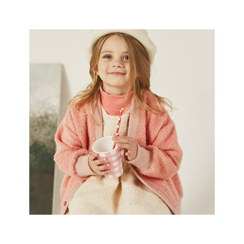 [MY LITTLE STAR] Cherry wool cardigan